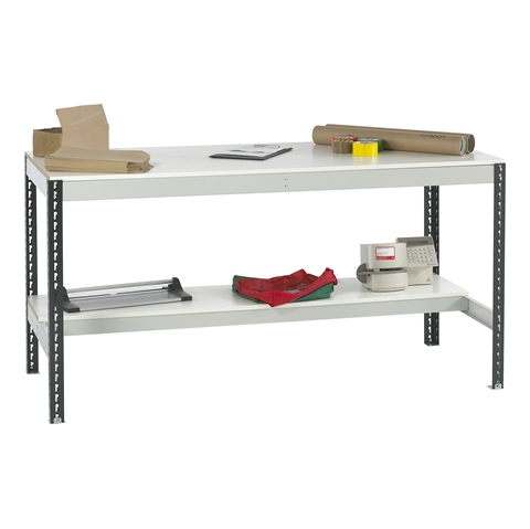 Workbenches with Half Lower Shelf