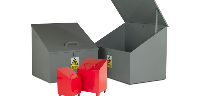Small Steel Bins