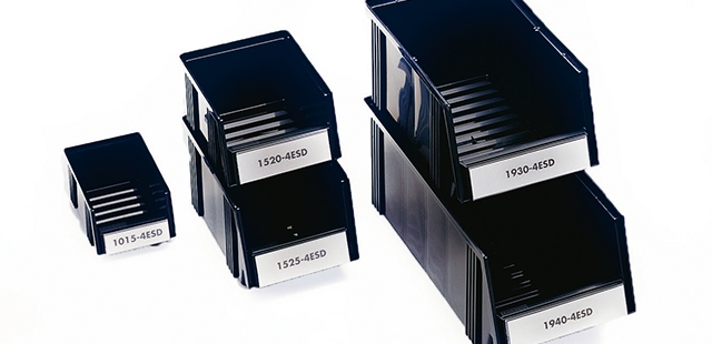 ESD Protected Small Parts Storage